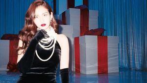 전소미, 명화 속 한 장면 같은 고전美..우아한 드레스 자태[★SHOT!]