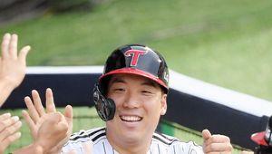 [사진]김현수,도망가자!
