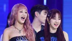 [사진](여자)아이들 민니-우기,즐거운 미소