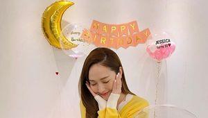"""'타일러권♥' 제시카, 33세 생일맞이 """"꽃미소 발사"""" [★SHOT!]"""