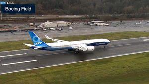 737맥스 위기 보잉의 구원투수?…777X, 첫 시험비행 성공
