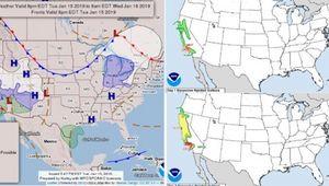 美캘리포니아 산불피해 지역에 산사태·눈폭풍 경보